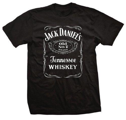 Jack Daniel's Officially Licensed Old No. 7 T-Shirt (4XL) Black
