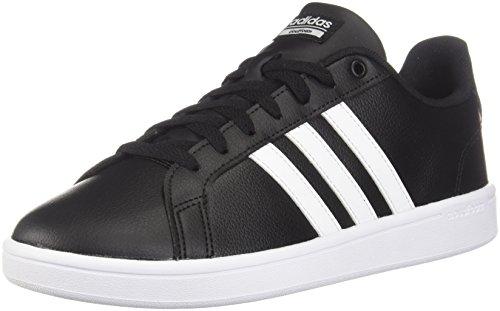 adidas Women's Cf Advantage Sneaker White/Black, 10.5 M US