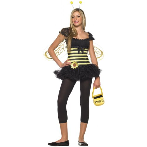 Sunflower Bee Teen/Junior Costume - Teen Small/Medium