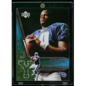 Nfl Score Falcons Card Atlanta - 2006 Upper Deck Vince Young Tennessee Titans Rookie Premiere Football Rookie Card - Mint Condition- Shipped in protective display case!!
