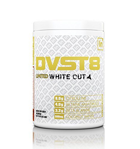 Inspired Nutraceuticals DVST8 White Cut Premium Pre-Workout California Gold 40 Servings