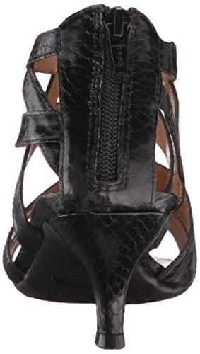 Las Vestido Serpiente Negra La Aerosoles Sandalias De Mascarada Mujeres 7vwnqPIXx
