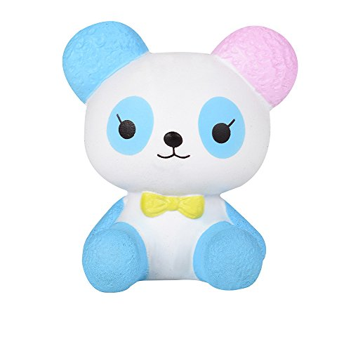 DORIC Stress Toys Cartoon Panda Scented Squishy Slow Rising Squeeze Collection Charm ()