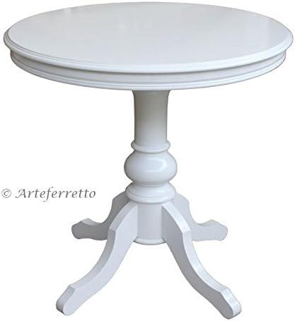 Artigiani Veneti Riuniti Tisch Rund Durchmesser 80 Cm Tischplatte