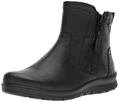 ECCO Women's Women's Babett Gore-tex Bootie Winter Boot, Black, 35 EU / 4-4.5 US