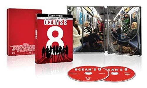 Oceans 8 (u.s. Exclusive Steelbook - 4k Ultra Hd + Blu-ray) Sandra Bullock