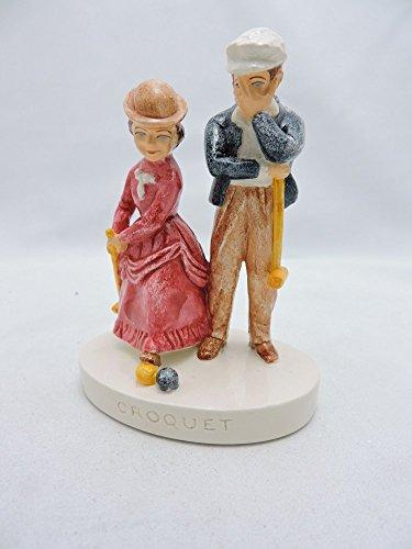 Sebastian Miniatures Figurine # 399 Croquet