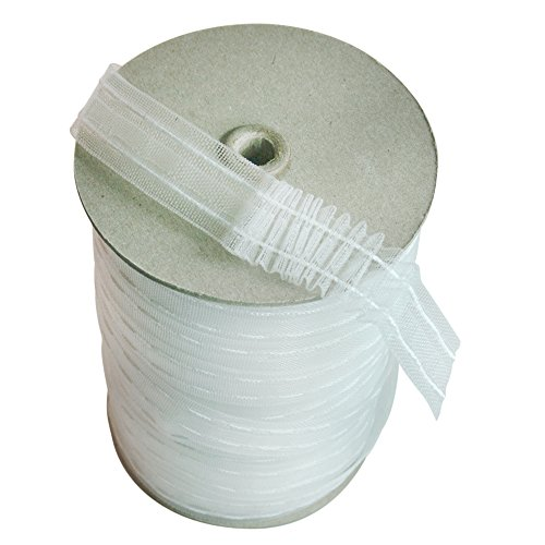 Transulcent Mini Pleat Tape - 1 Inch Wide x 6 Yd