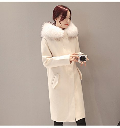 Coat Fashion Coat Cotton Creamy Loose WYF Coat Thick white Coat Thin Female Autumn Winter Women and 'S xCXOvq8