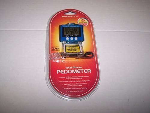 Total Fitness Pedometer: 7 Day Memory Recall