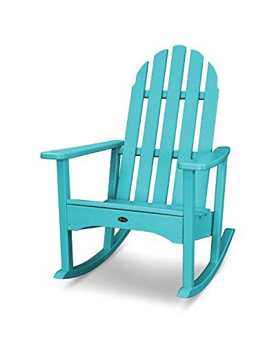 Trex Outdoor Furniture Cape Cod Adirondack Rocking Chair in Aruba
