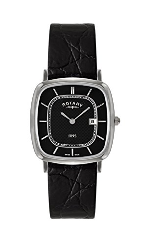Rotary GS08100-04 Mens Ultra Slim Black Watch