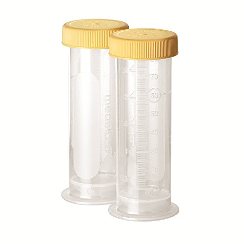 Medela Breastmilk Freezing & Storage Containers, 2.7 Ounce, 80ml 10 Count