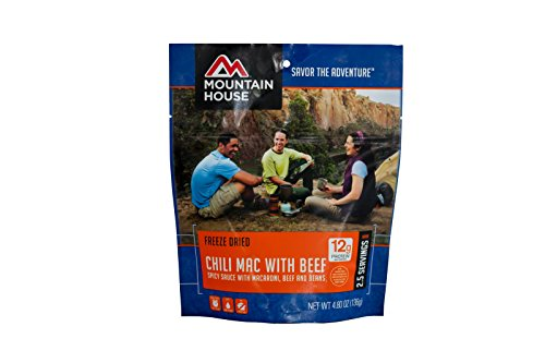 Mountain House Chili Mac with Beef (Chili Macaroni Mre compare prices)