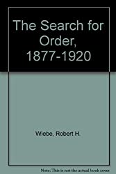 Search for Order: 1877-1920