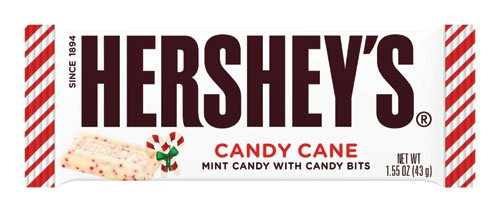 Hershey's Candy Cane Candy Bar Chocolate 1.55 Oz(2 Pack) for $<!--$6.90-->