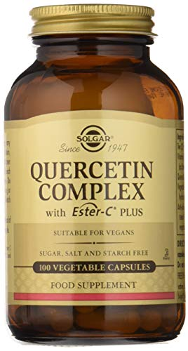 Solgar Quercetin Complex with Ester-C® Plus, Unique Synergistic Formulat Immune Health Support, 100 Vegetable Capsules