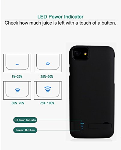 RUNSY iPhone 7 Plus 6S Plus 6 Plus Battery event 8200mAh Rechargeable Extended Battery Charging event External Battery Charger event Backup capability Bank event 55 inch Battery Charger Cases