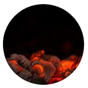 alfombrilla de ratón las brasas en el fuego - ronda - 20cm