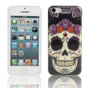 Plastic Protective Case for iPhone 5C Cool Skull