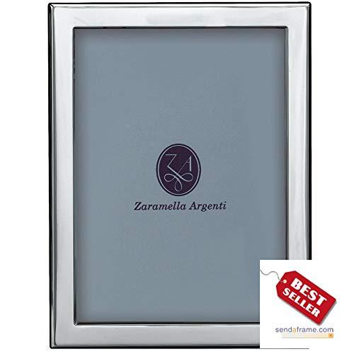 - LONDON - an engraving favorite - in fine Italian Sterling Silver by Zaramella Argenti® - 4x6