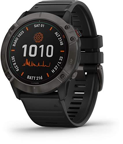 🥇 Garmin – Reloj GPS con Pulsómetro Fenix 6X Pro Solar Garmin