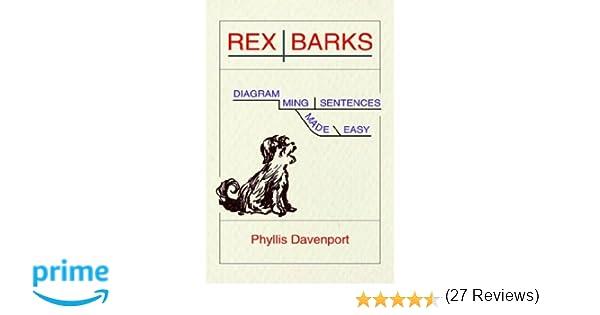 Amazon.com: Rex Barks: Diagramming Sentences Made Easy ...