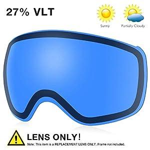AKASO Mag Pro OTG Ski Goggles Replacement Lens