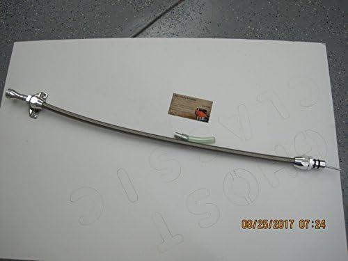 AluminumHandle 904 Torqueflite Flexible Transmission Dipstick Stainless Firewall