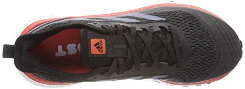 Adidas Kvinders Svar Trail Løbesko Grå (kul / Rå Stål / Trace Scarlet) mDYSh