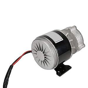Alomejor 12V 250W Motore Elettrico di Riduzione Dell'Ingranaggio con 9 Denti DC Motore per E-Bike Scooter Elettrico