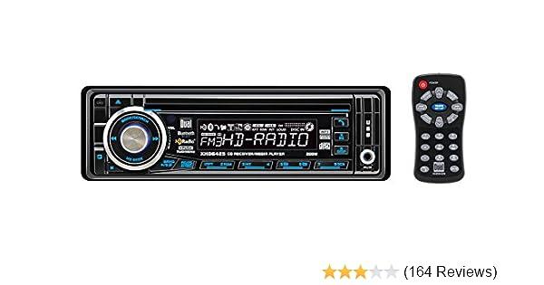 Amazon Dual Xhd6425 4x50 Watt Bluetoothready Hd Radio And Mp3 Rhamazon: Dual Xhd6425 Wiring Harness At Gmaili.net