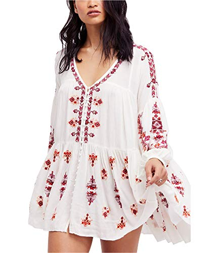 Free People Women's Arianna Tunic Ivory Small from Free People