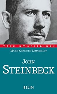 John Steinbeck par Marie-Christine Lemardeley-Cunci