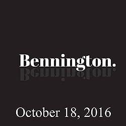Bennington, October 18, 2016