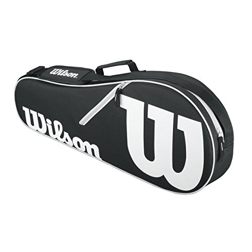 Wilson Advantage II Tennis Bag, Black/White