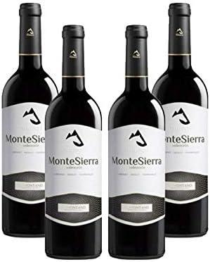 Vino tinto MonteSierra Seleccion de 75 cl - D.O. Somontano - Bodegas Barbadillo (Pack de 6 botellas): Amazon.es: Alimentación y bebidas