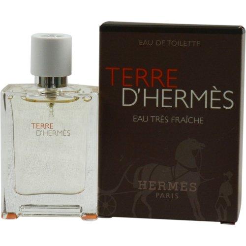 TERRE D'HERMES by Hermes EAU TRES FRAICHE EDT SPRAY .42 OZ for MEN (Package Of 5)