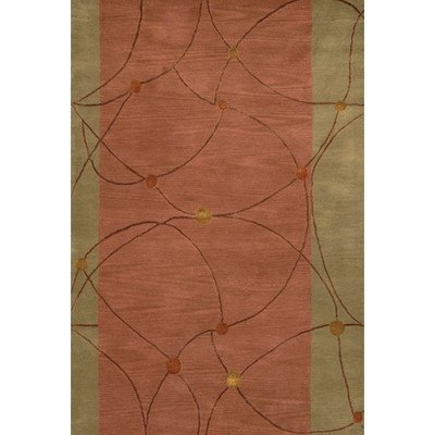 Chandra Rugs Lost Link Rug Rug Size: Round 7'9