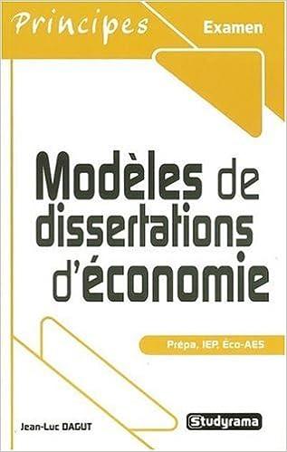 En ligne Modèles de dissertations d'économie epub, pdf
