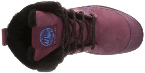 PalladiumPampa Sport Cuff WPS - botas y botines de tacón bajo Unisex adulto rojo - Rot (Burgundy/Black)