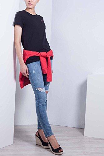 Con Skinny Alta A 30 Taglia Jeans 721 Levi's Vita Strappi Donna tqZ7fw0