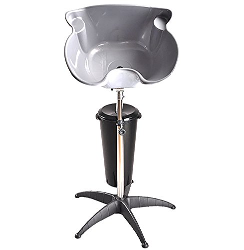 Used, Portable Hair Shampoo Bowl Basin Stand Adjustable Height for sale  Delivered anywhere in Canada
