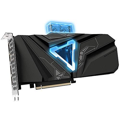 GIGABYTE GeForce RTX 2080 Super Gaming OC Waterforce WB 8G Graphics Card, Pre-Installed Waterblock, 8GB 256-Bit GDDR6, GV-N208SGAMINGOC WB-8GD Video Card