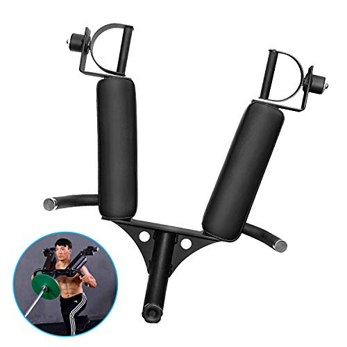 AticaSport T-bar Landmines Handle Squat Olympic Barbell Insert Shoulder Multi-Grip Rowing Large Gym Fitness Equipment