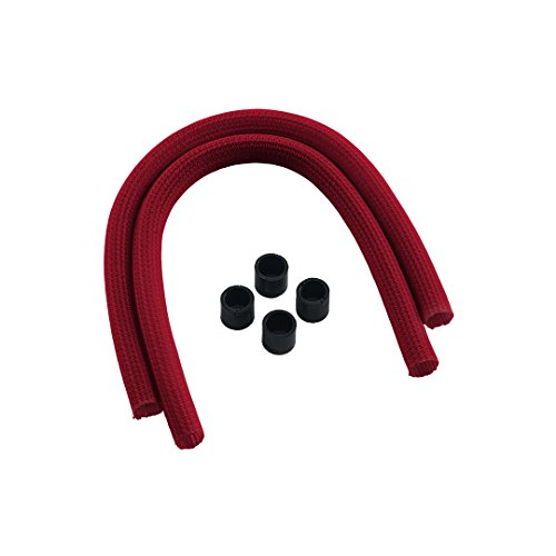 CableMod AIO Sleeving Kit Series 2 for NZXT Kraken / Corsair Hydro PRO / EVGA  CLC / EVGA GPU Hybrid - RED