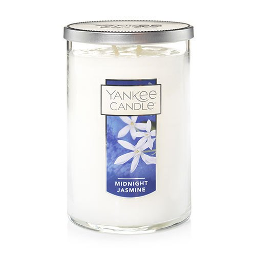 Yankee Candle Large 2-Wick Tumbler Candle, Midnight Jasmine