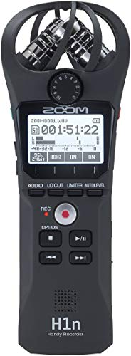 Zoom H1n Handy Recorder (2018 Model) (Best Portable Field Recorder)