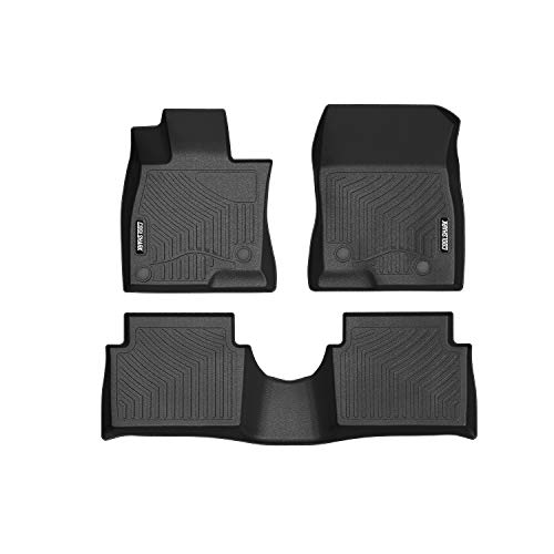 - COOLSHARK Mazda3 Floor Mats, Waterproof Floor Liners Custom Fit for 2014-2018 Mazda3 Sedan and Hatchback (Not Fit 2019 Model),1st and 2nd Rows Included-All Weather Protection,Black