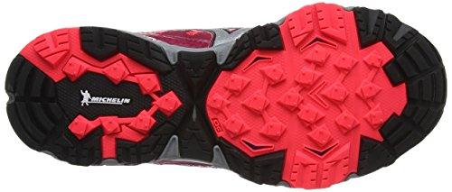 Trail Pink Running Mujin Pink W Diva Mizuno Wave Shoes Persian Silver 3 Women's Red qX58S5wYx